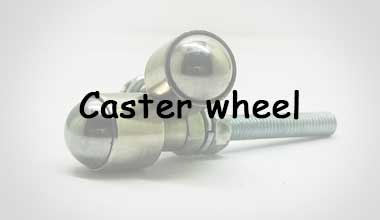 Caster wheel for robocup competitions