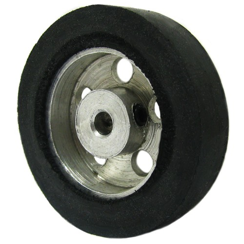 30mm Diameter 3mm Hole Size Aluminum Robot wheel