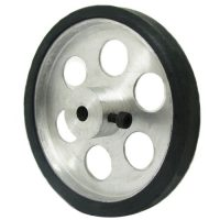 7cm aluminum wheel for robot
