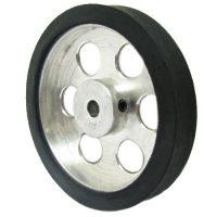 7cm aluminum wheel for robot