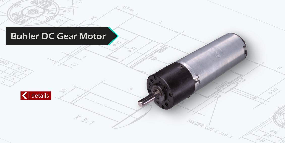 Buhler-DC-Gear-Motor