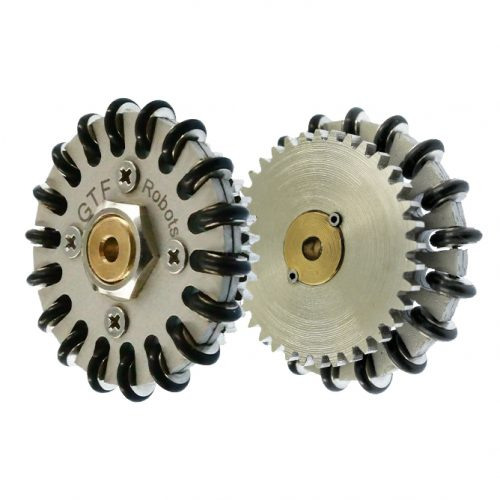 50mm Omni Wheel plus with spur gear