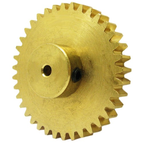 37 Teeth Brass Spur Gear