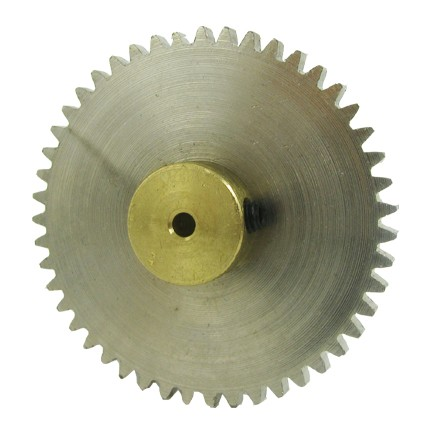 47 Teeth 3mm Bore Diameter Steel Spur Gear
