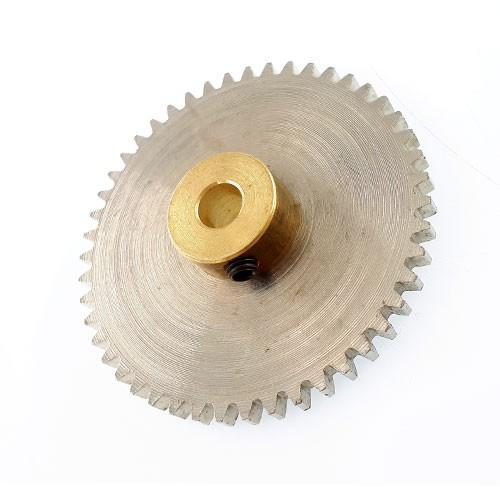 47 Teeth 6mm Bore Diameter Steel Spur Gear